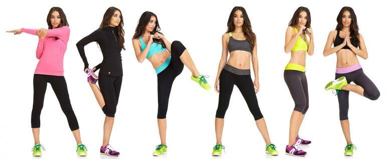 Как подобрать одежду для фитнеса на Woman Planet
