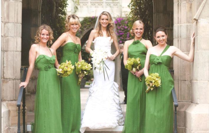 Зеленая свадьба - юбилеи свадеб на Woman Planet