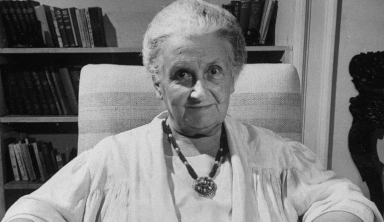Мария Монтессори краткое описание на Woman Planet