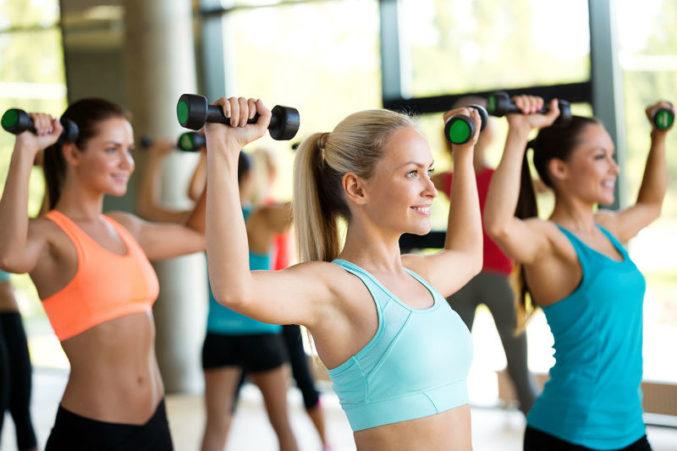 Силовые тренировки статья на Woman Planet
