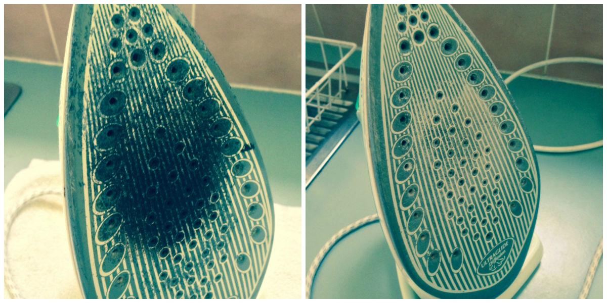 Чем почистить утюг с тефлоновым покрытием в домашних условиях