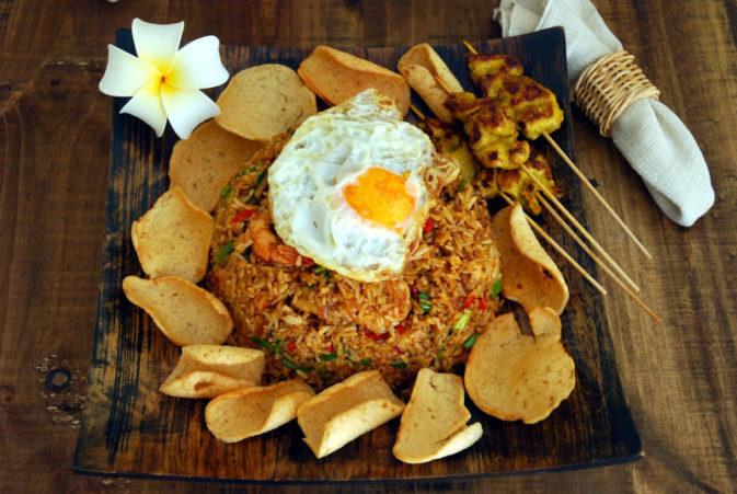 Рис - основа блюд на Бали на Woman Planet