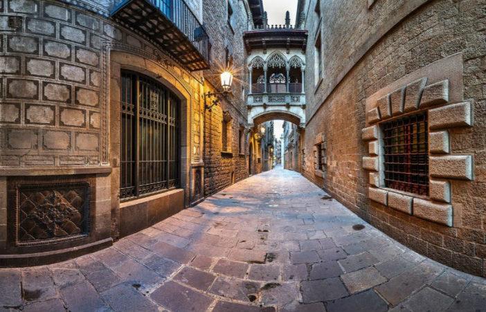 Готический квартал (Барселона) Woman Planet