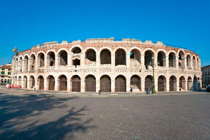 Верона Римский Амфитеатр - Woman Planet