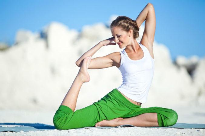 Йога для здоровья женщин на Woman Planet