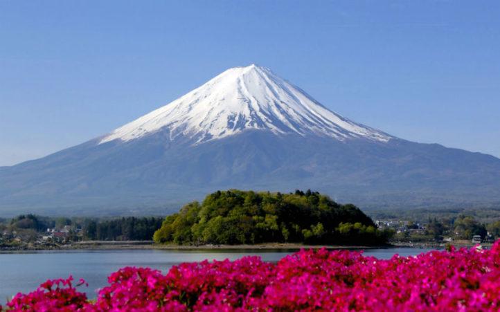 Гора Фудзи - достопримечательности Японии Woman Planet