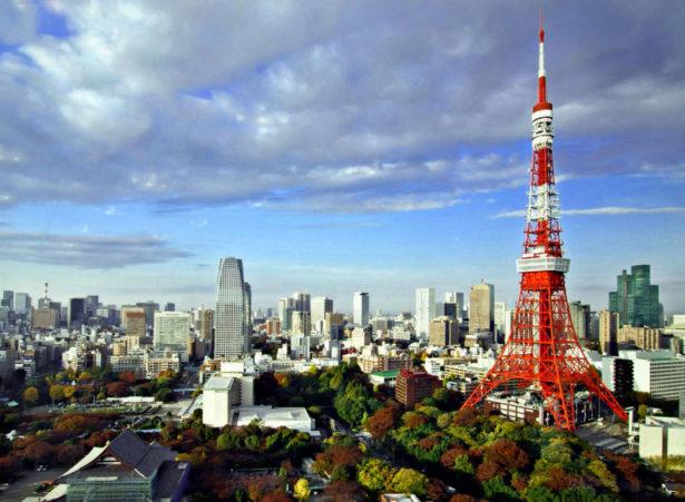 Телебашня в Японии - достопримечательности Японии Woman Planet