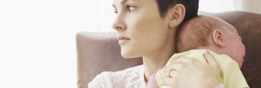 Послеродовая депрессия - статья на Woman Planet