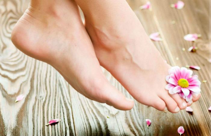 Как убрать огрубевшую кожу со ступней